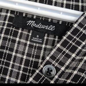 Madewell Dresses - Madewell  plaid Thomson dress